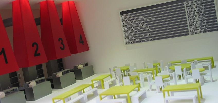 Modello di Cook Room alla Biennale di Venezia nel 2004